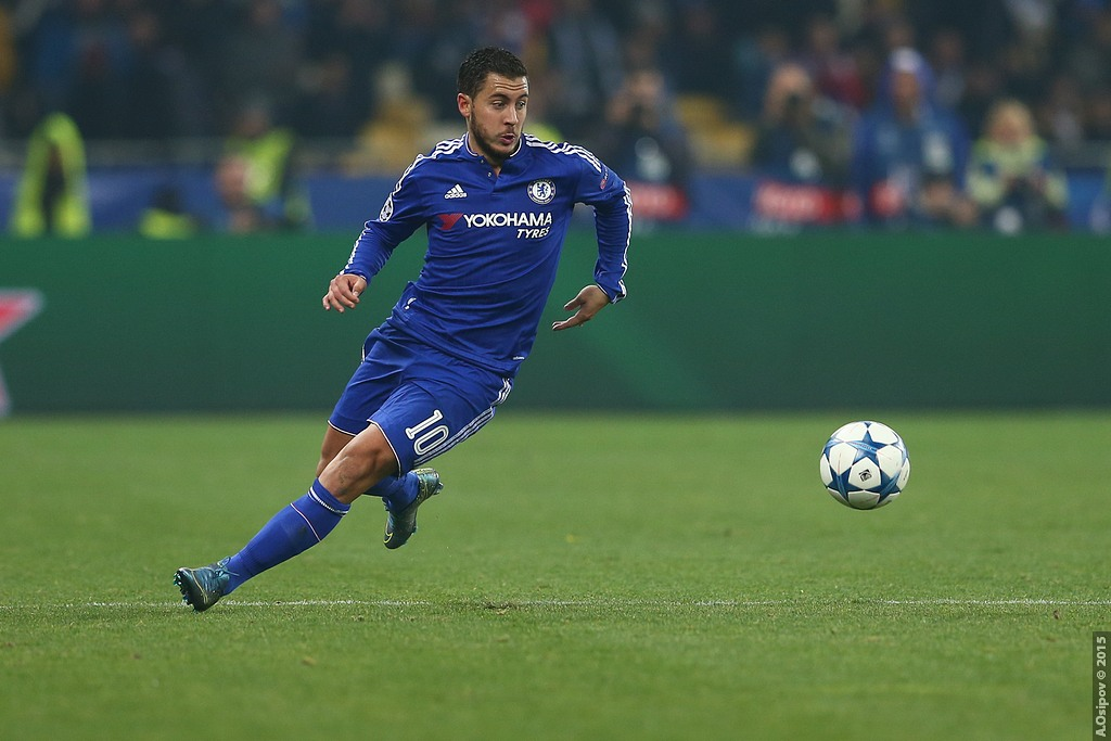 Alvaro Morata follows Eden Hazard's orders to help Chelsea thrash Stoke City