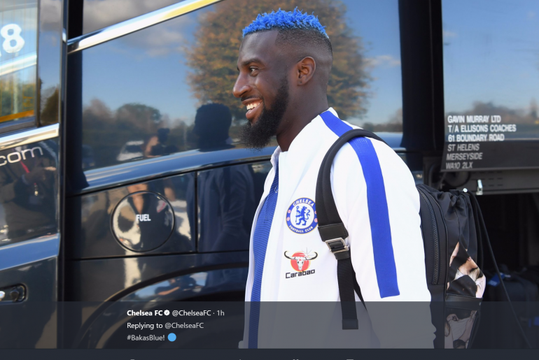 Bakayoko Blue hair
