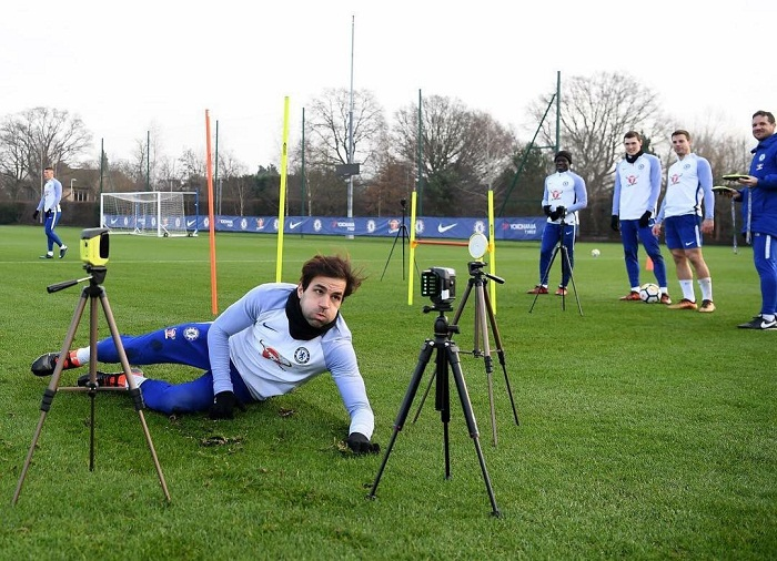 Fabregas, Chelsea Training